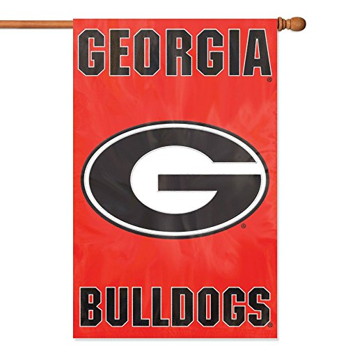Nylon Georgia Indoor Flag - Party Animal Georgia Bulldogs Banner College Flag