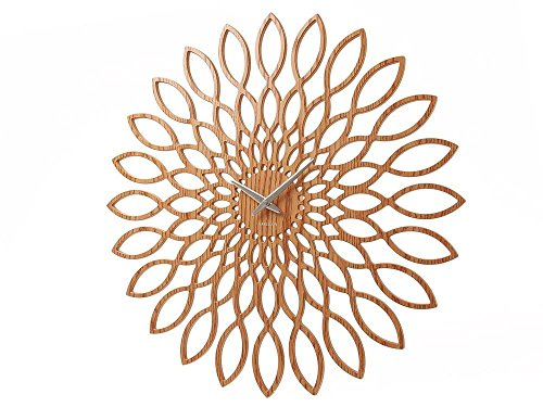 Present Time Karlsson Sunflower Wall Clock