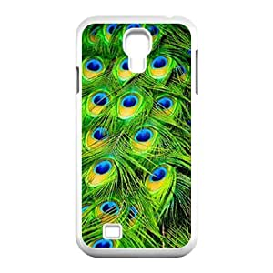 Peacock's tailDIY Cover Case for SamSung Galaxy S4 I9500,personalized phone case ygtg-756338 WANGJING JINDA
