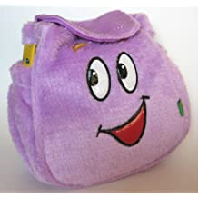 Dora the Explorer Mr. Face Backpack Rescue Pack - Plush Lavender Color with Velcro Closure and Includes SuperMap!