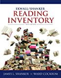 Ekwall/Shanker Reading Inventory, James L. Shanker and Ward A. Cockrum, 0132849968