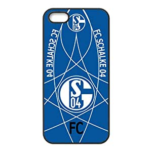 FC Schalke 04 Brand New And Custom Hard Case Cover Protector For Iphone 5s