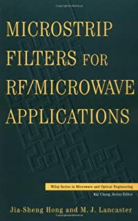 Microstrip filters for rf/microwave applications pdf