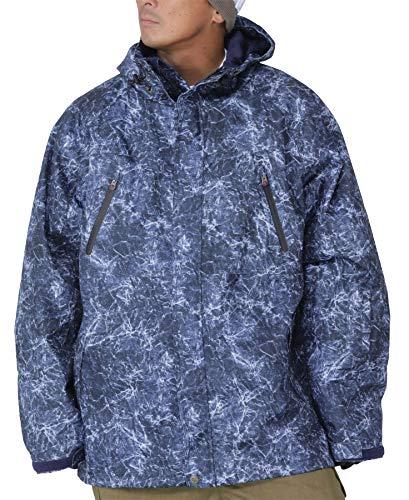PONTAPES(폰 다페스 ) 4L/6L사이즈 스노보드 웨어 재킷 빅사이즈 전4 색무늬 큰 사이즈 B체 사이즈 POJ-40KING