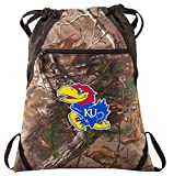 Broad Bay University of Kansas Cinch Pack REALTREE Camo KU Jayhawks Backpack
