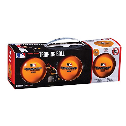 (Franklin Sports MLB 12.5 oz Home Run Training Ball (3 Pack))
