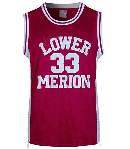 38bd964a4ff RAAVIN Mens #33 High School Basketball Jersey Bryant Basketball Jersey  S-XXXL (Red