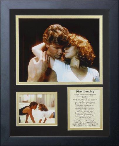 """Legenden Sterben Nie """"Dirty Dancing"""" gerahmtes Foto Collage, 11 x 35,6 cm von Legends Never Die"""