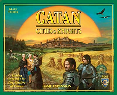 Catan Cities And Knights Game Expansion from Mayfair Games