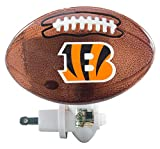 Evergreen Enterprises Glass Night Light Cincinnati Bengals - Football