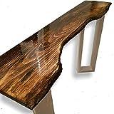 Live Edge Pine Sofa Table
