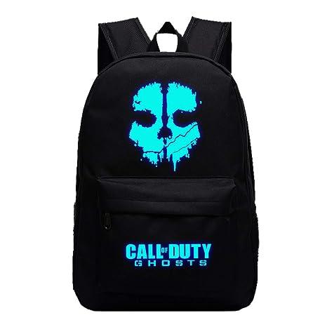 Call of Duty Mochila Casual Mochila Estampada Popular Mochilas Escolares Bolsa de Viaje Mochila para Deportes