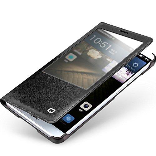 1 opinioni per Huawei Mate 7custodia, slim in caso di Qialino, con Smart View Winodw e
