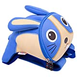 Zhao Xiemao Safety Harness Backpack Anti Lost Safety Harness Backpack Blue with Safety Leash for Toddlers Age 1-3 Years Old Boys and Girls Backpack with Safety Harness Straps