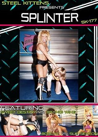 e5fb5d54453036 Women's Wrestling | Pro Wrestling | Splinter - Featuring Sweet Destiny vs.  Brandi Wine and BobCat vs. Sue Sexton by Sue Sexton Woman Wrestler:  Amazon.ca: ...