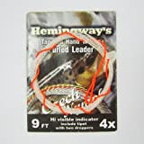 Aventik Hemingway's Tapered Hand Woven Furled leader-Czech Nymph 9FT 4X