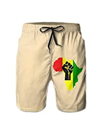 Mens Shorts,boys Classic-Fit Perfect Cargo Shorts MenAfrican Black Power