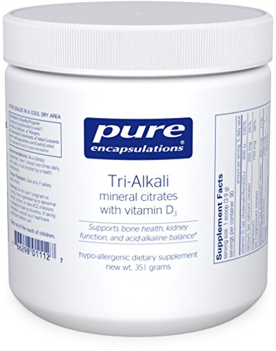 Pure Encapsulations Tri Alkali Citrates Acid Alkaline