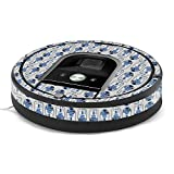MightySkins Skin for iRobot Roomba 960 Robot Vacuum - Galaxy Bots | Protective, Durable, and Unique Vinyl Decal wrap Cover | Easy to Apply, Remove, and Change Styles | Made in The USA