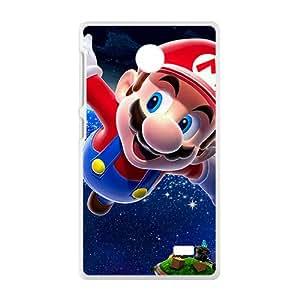 SANLSI Super Mario Phone Case for Nokia Lumia X case