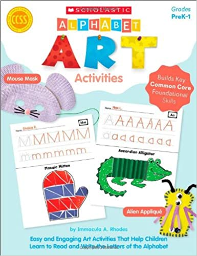 Amazon.com: Alphabet Art Activities: Easy and Engaging Art ...