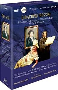 Gioachino Rossini - Il barbiere di Siviglia / Il Turco in Italia / Moïse et Pharaon