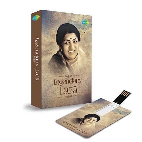MUSIC CARD- LEGENDARY LATA (200 HD SONGS) (USB MEMORY STICK)