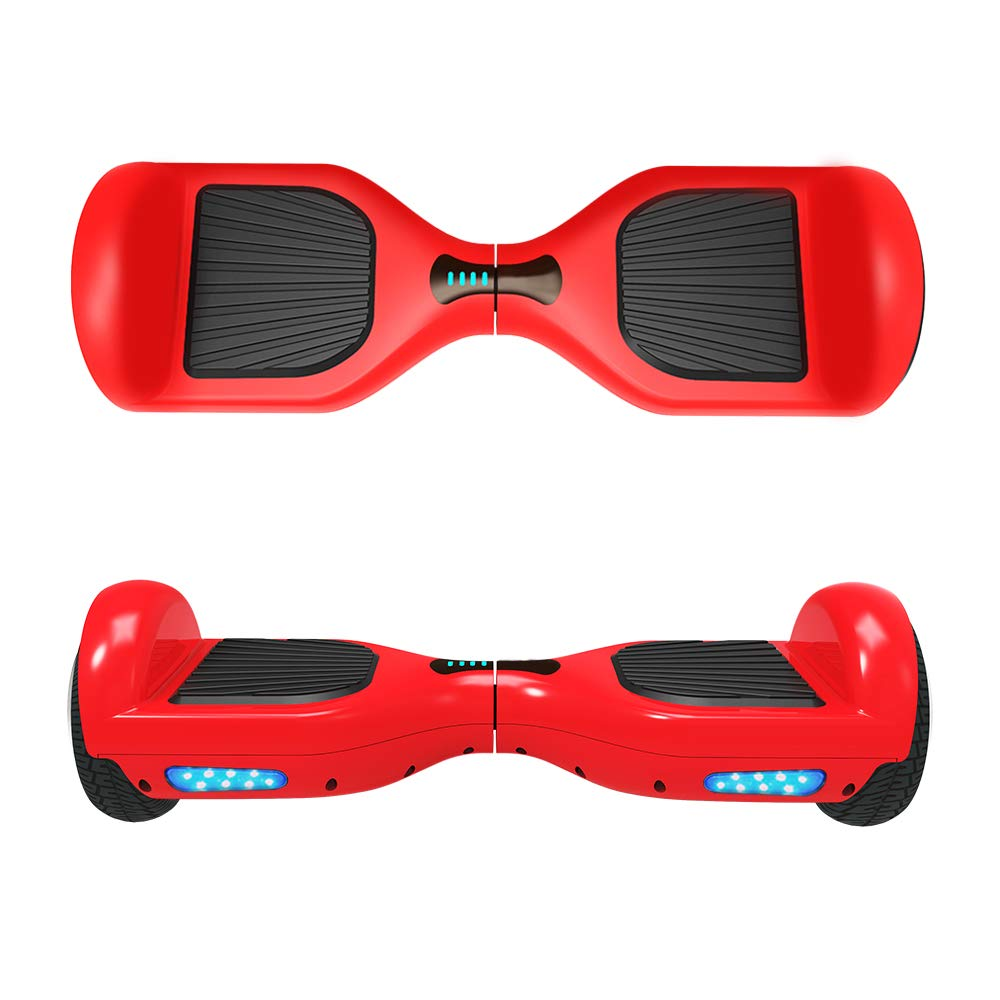 VEEKO Hover Board UL2272 Certified Bluetooth Connect Stereo Bluetooth Speakers Easy Stay Balance Scooter Two-Wheel Electric Hoverboard Transporter for 14+ Fast Charger Max Speed Control 10KMH