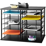 "Rubbermaid 12-Slot Organizer, 21W x 11 3/4""""D x 16""""H, Black (1738583)"