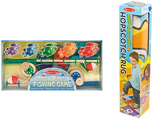 Melissa-Doug-Hop-Count-Hopscotch-Rug-Magnetic-Fishing-Game-Bundle-Toy
