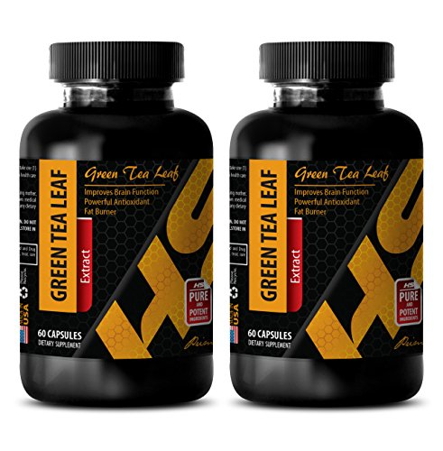 Damiana Leaf Extract (Weight loss vitamins - GREEN TEA LEAF EXTRACT - Green tea extract max - 2 Bottles 120 Capsules)