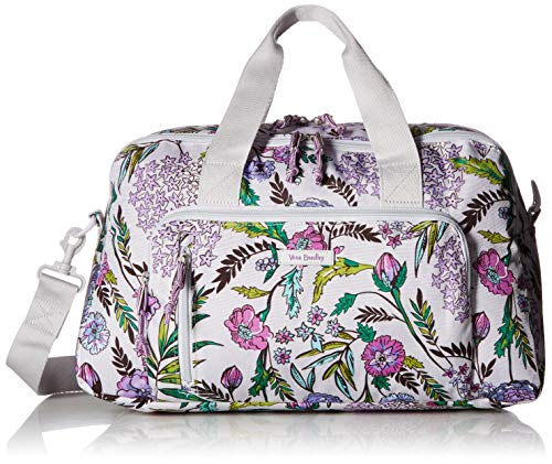 (Vera Bradley Lighten Up Compact Weekender, Lavender Botanical)