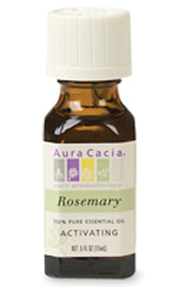 Aura Cacia 100% Pure Essential Oils - Rosemary - 0.5 oz