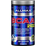Allmax Nutrition - BCAA Capsules - 2: 1: 1 Ratio - 180 Count