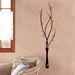 Spirit Flowers - Wall Decals Stickers Appliques Home Decor