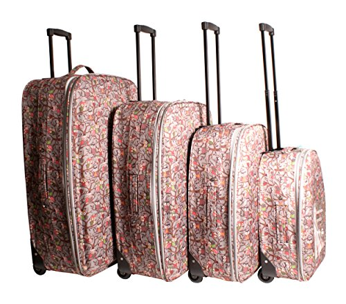 Travel Lite – Juego de maletas  unisex adulto gris Luggage set