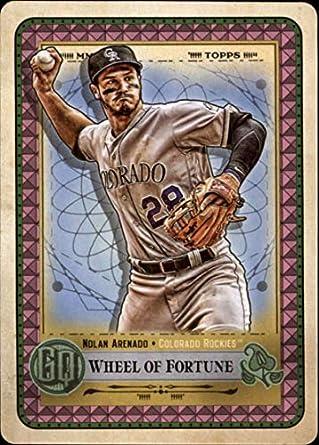 0f88ce066cbfa Amazon.com: 2019 MLB Gypsy Queen Tarot of the Diamond Baseball TOTD7 ...
