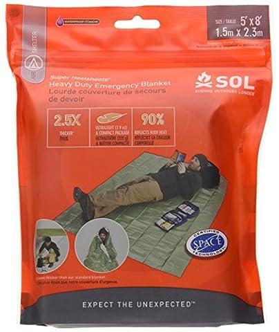 SOL Heavy Duty Emergency Blanket