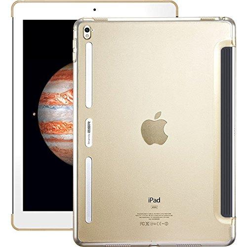 iPad Pro 9.7 Case, ESR Clear Hard Case  with Soft TPU Bumper