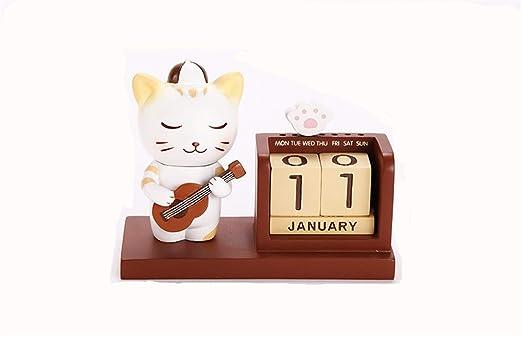 AntCompany Cat Perpetual Calendar Girls Girls Niños ...