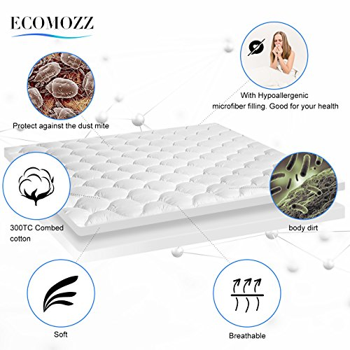 Mattress pads for comfort