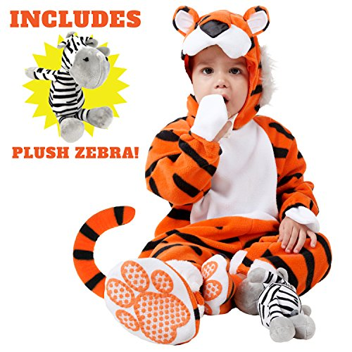 Spooktacular Creations Deluxe Baby Tiger Costume Set (18-24 months) - Zebra Costumes For Toddlers
