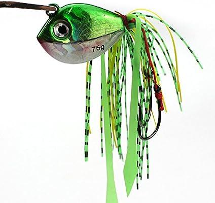 WDDDYYE Pesca Señuelo/Gancho De La Cabeza De La Plantilla De Pesca 75G Moldes para Ganchos De Pesca De Plomo 3D Cebos Augen Equipo De Pesca De Acero ...