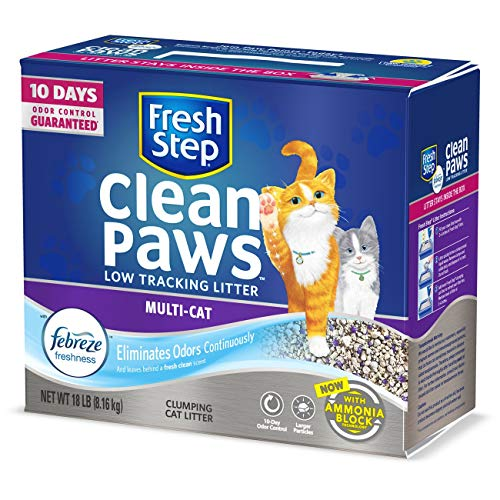 Fresh Step Clean Paws Triple Action Scented Litter,...