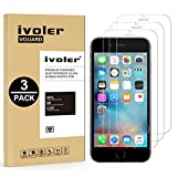 [3 Pack] iPhone 6S/8 Plus Screen Protector, iVoler iPhone 6 Plus / 6S/8 Plus Glass Screen Protector [3D Touch Compatible - Tempered Glass] 0.2mm Screen Protection Case Fit [Lifetime Warranty]
