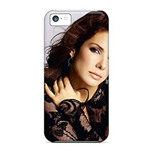 Covers phone back shell New Fashion Cases Abstact iphone 5C - celebrity sandra bullock