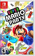 Inspired by original Mario Party board game play, the beloved series is coming to Nintendo Switch with new minigames and play styles that make use of the Joy-Con controllers. The Super Mario Party game includes features like character-exclusi...