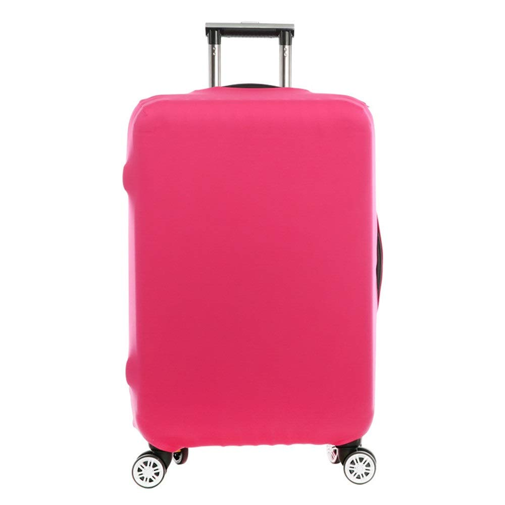 JIANGXIUQIN-Bag Luggage Cover 18//24//28//32 Inch Travel Luggage Protector Elastic Baggage Covers for Carry-on and Checked-in Luggage Protector Color : Purple, Size : S 18-21