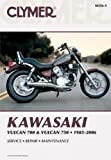 M356-5 Kawasaki VN700 VN750 Vulcan 1985-2006 Clymer Motorcycle Repair Manual