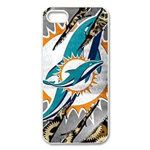 NFL Miami Dolphins Iphone 5 Case Cover New Style Miami Dolphins Iphone 5 Cases